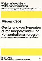 Gestaltung von Synergien durch Kooperations- und Konzentrationsstrategien