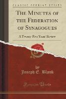 The Minutes of the Federation of Synagogues