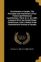 GOVERNMENT IN CANADA THE PRINC