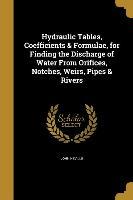 HYDRAULIC TABLES COEFFICIENTS
