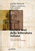 Storia e testi della letteratura italiana. Breve introduzione allo studio della letteratura