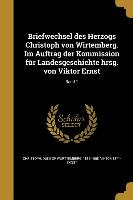 GER-BRIEFWECHSEL DES HERZOGS C