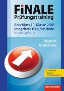 FiNALE Prüfungstraining Abschluss. Deutsch 2018. Arbeitsbuch mit Lösungsheft. NI
