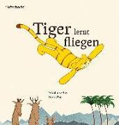 Tiger lernt fliegen