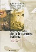 Storia e testi della letteratura italiana