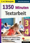 1350 Minuten Textarbeit / Klasse 3-4