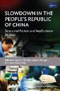 Slowdown in the People¿s Republic of China