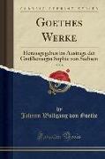 Goethes Werke, Vol. 8