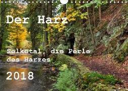 Der Harz (Wandkalender 2018 DIN A4 quer)