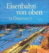 Eisenbahn von oben in Österreich