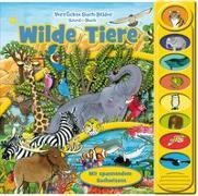 Wilde Tiere - 8-Button-Soundbuch