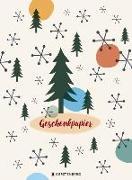 Geschenkpapier-Heft - Weihnachten