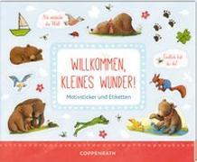 Stickerbuch - BabyBär - Willkommen, kleines Wunder!