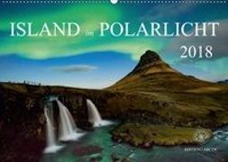 Island im Polarlicht (Wandkalender 2018 DIN A2 quer)