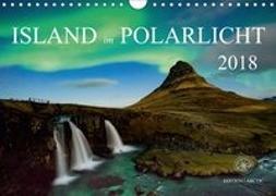 Island im Polarlicht (Wandkalender 2018 DIN A4 quer)
