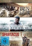 BEN HUR/GLADIATOR/SPARTACUS DVD ST