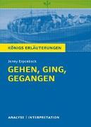 Königs Erläuterungen: Gehen, ging, gegangen von Jenny Erpenbeck