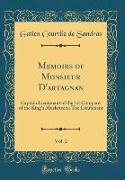 Memoirs of Monsieur D'artagnan, Vol. 2