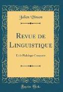 Revue de Linguistique