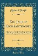 Ein Jahr in Konstantinopel, Vol. 3