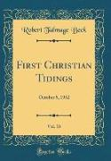 First Christian Tidings, Vol. 16