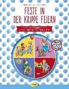Feste in der Krippe feiern (Buch inkl. CD)