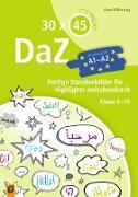 30 x 45 Minuten – DaZ - A1-A2