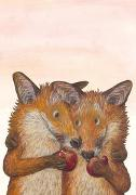 Fuchsliebe Postkarte VE 1=10