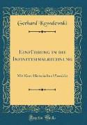 Einführung in die Infinitesimalrechnung