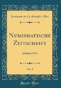 Numismatische Zeitschrift, Vol. 8
