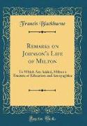 Remarks on Johnson's Life of Milton