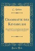 Grammatik des Kinyamuesi