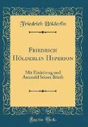 Friedrich Hölderlin Hyperion