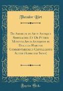 De Amorum in Arte Antiqua Simulacris Et De Pueris Minutis Apud Antiquos in Deliciis Habitis