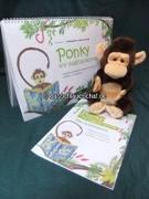 L., E: Ponkey the magical Monkey