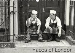 Faces of London (Wandkalender 2017 DIN A3 quer)