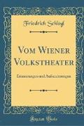 Vom Wiener Volkstheater
