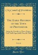 The Early Records of the Town of Providence, Vol. 15