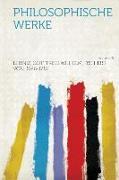 Philosophische Werke Volume 5
