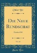 Die Neue Rundschau, Vol. 10