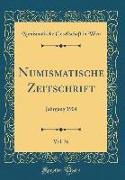 Numismatische Zeitschrift, Vol. 36