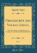 Geschichte des Volkes Israel, Vol. 2