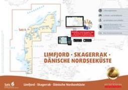 Sportbootkarten Satz 6: Limfjord - Skagerrak - Dänische Nordseeküste (Ausgabe 2018/2019)