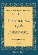 Leopoldina, 1906, Vol. 42