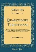 Quaestiones Terentianae
