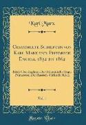 Gesammelte Schriften von Karl Marx und Friedrich Engels, 1852 bis 1862, Vol. 1
