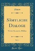 Sämtliche Dialoge, Vol. 4