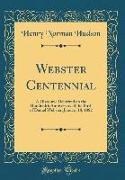 Webster Centennial
