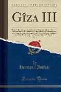Gîza III, Vol. 3