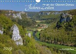 JahresZeiten an der Oberen Donau (Wandkalender 2019 DIN A4 quer)